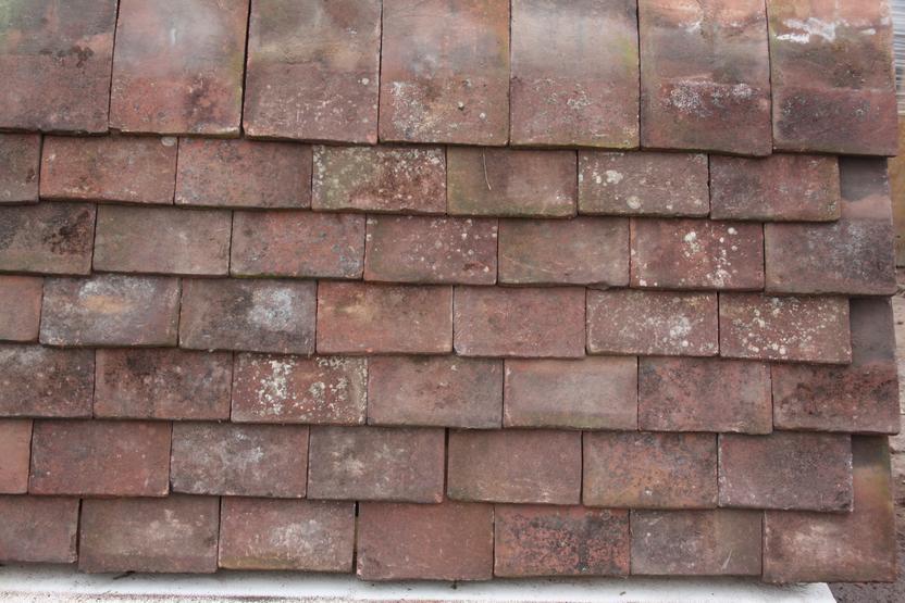 Reclaimed Red Handmade Rosemary Roofing Tiles Cawarden