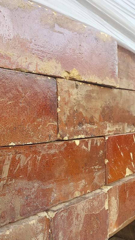 Reclaimed Brown Glazed Bricks Cawarden Reclaim
