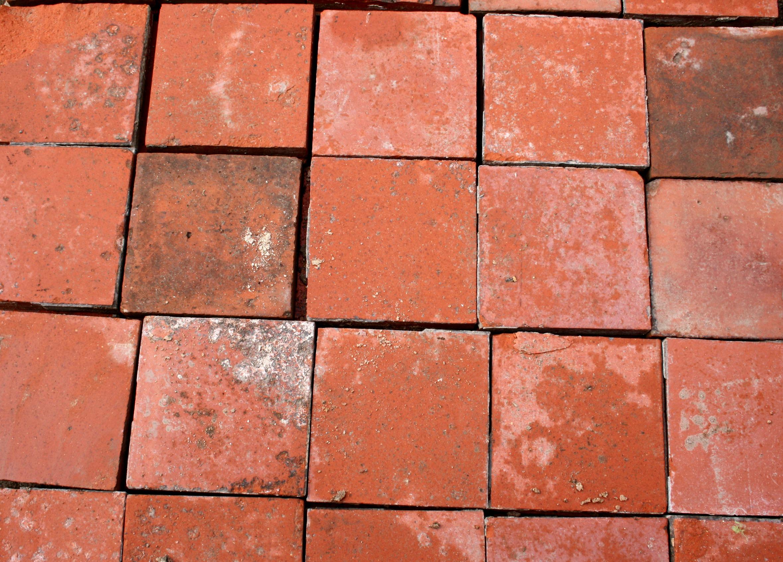 Reclaimed Red Quarry Tiles  7  x 7    Cawarden Reclaim. Exterior Wall Tiles Uk. Home Design Ideas