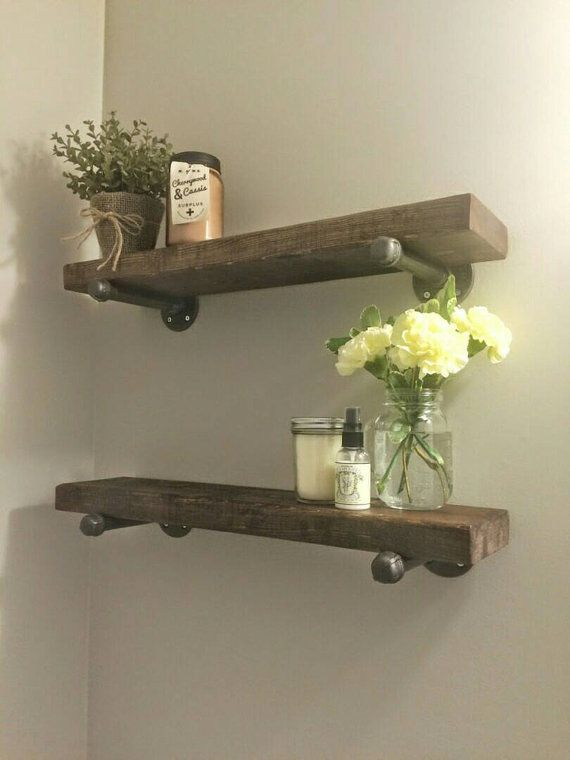 an image of a reclaimed shelving unit showing the uses for reclaimed wood