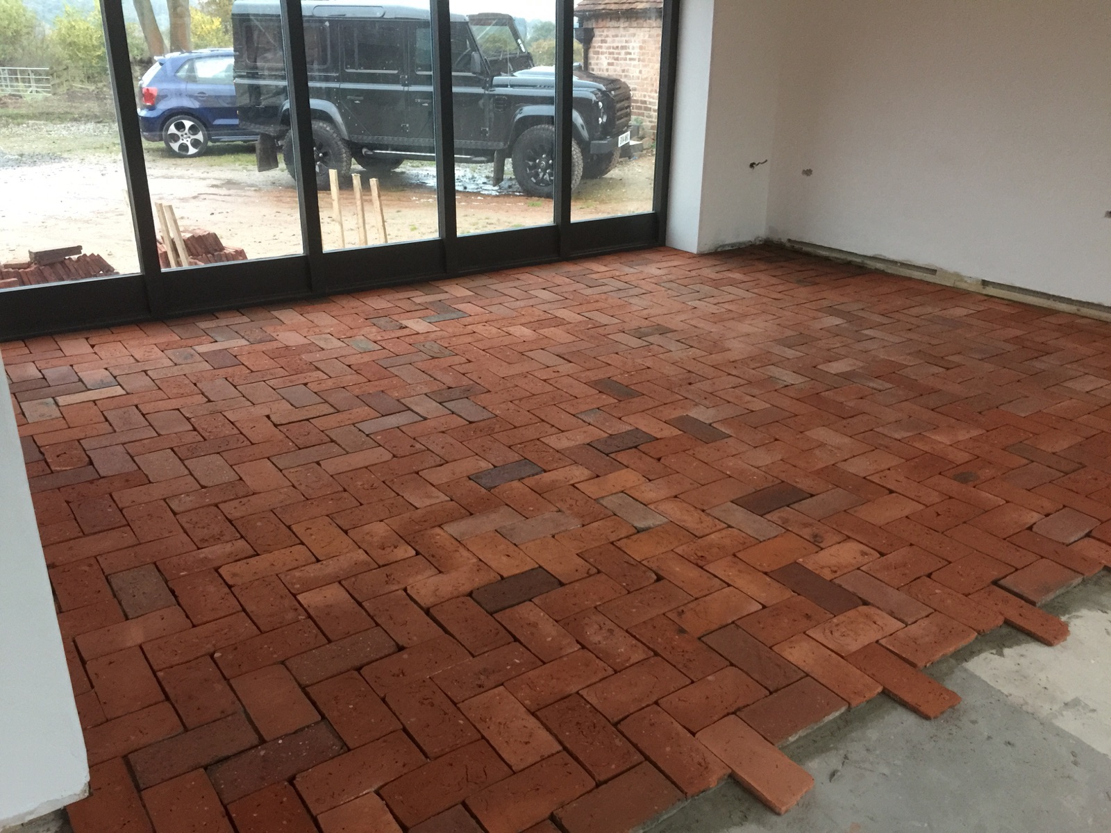 Reclaimed cut bricks for paving cawarden reclaim for Demolition wood for sale