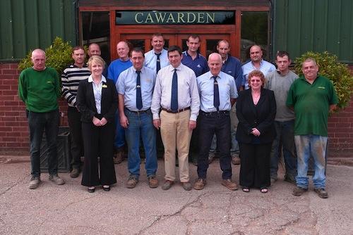 Cawarden Staff